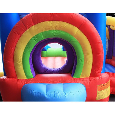 KidWise Lucky Rainbow Bouncer