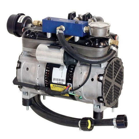 Airmax SilentAir RP50 1/2HP Piston Compressor with Double Plate Manifold, 115V
