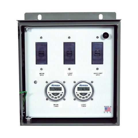 Airmax EcoSeries™ Deluxe Control Panel, 115V - 15 AMP