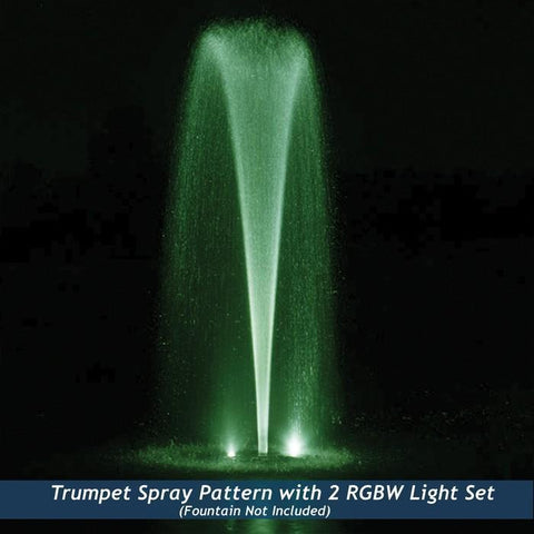Airmax RGBW Color-Changing LED Fountain 2 Light Set, 150' Cord