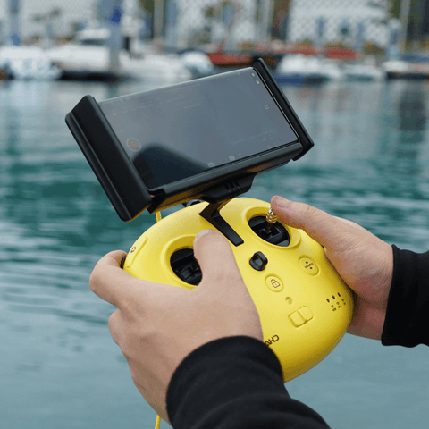 Chasing M2 Underwater Drone
