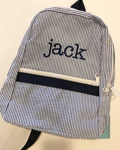 Small Mint Brand Personalized Backpack