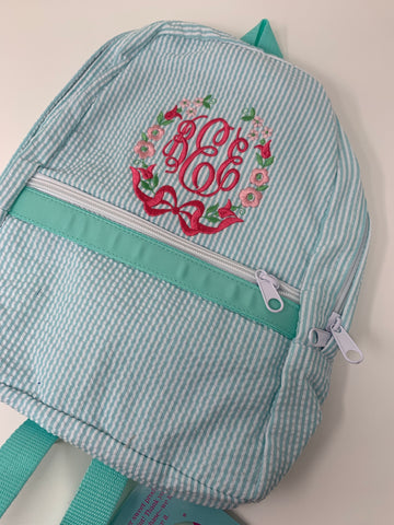 Medium Mint Backpack