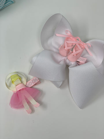 Ballet Bow Clip in's
