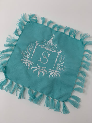 Custom Fringe cocktail napkins set of 4