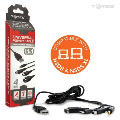 Universal Power Cable for New 3DS/ New 3DS XL/ 2DS/ 3DS XL/ 3DS/ DSi XL/ DSi/ DS Lite/ DS/ GBA SP/ PSP 3000/ PSP 2000/ PSP 1000