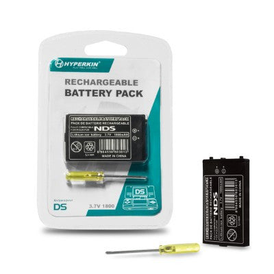 DS Rechargeable Battery Pack with Screwdriver
