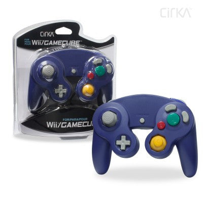 Wii/ GameCube Wired Controller (Purple)