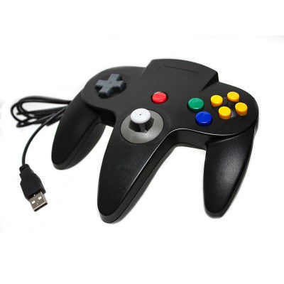 PC/ Mac N64 USB Controller (Black)