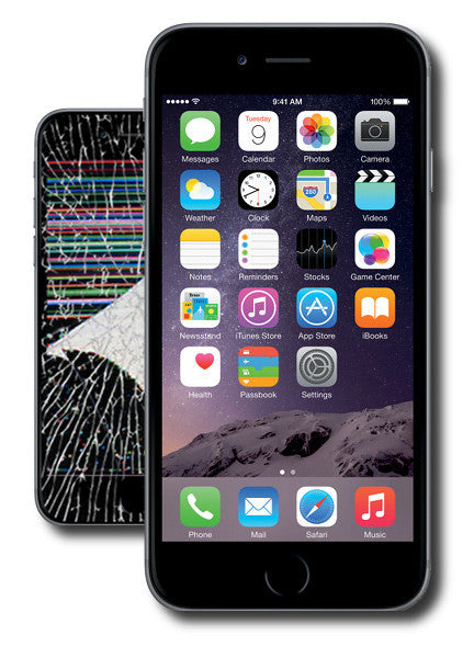 iphone fix screen iphone 6 screen repair glass only the exchange 5323