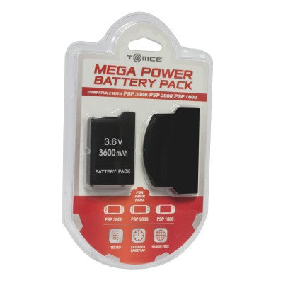 PSP 3000/ PSP 2000/ PSP 1000 Mega Power Battery Pack