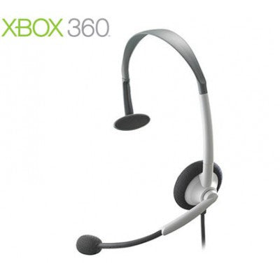Xbox 360 Original Wired Headset White