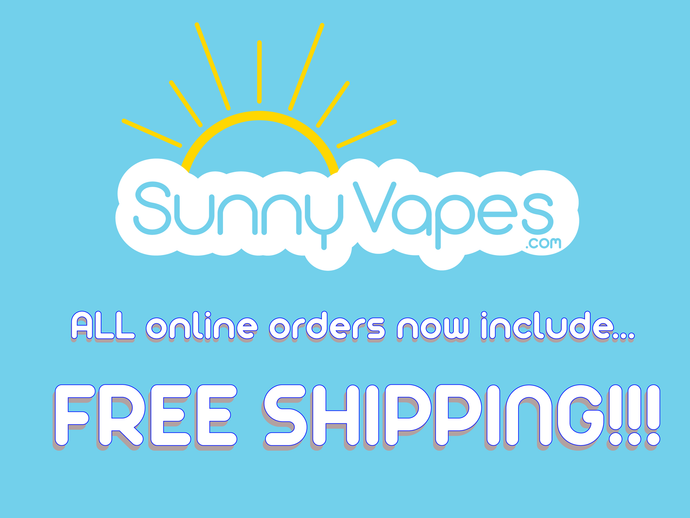 Sunny Vapes Summer Heat SALE!!!  20% with code: SUMMER20