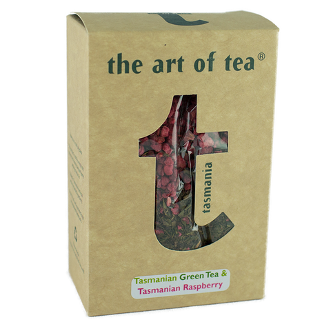 Art of Tea Tasmanian Green Tea and Raspberry