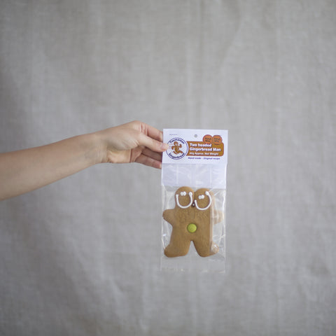 Tas Gingerbread Two Headed Gingerbread Man