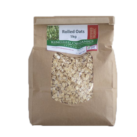 Kindred Organics Rolled Oats 1kg