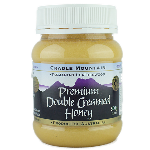 Cradle Mountain Honey Premium Double Creamed Honey 500gm