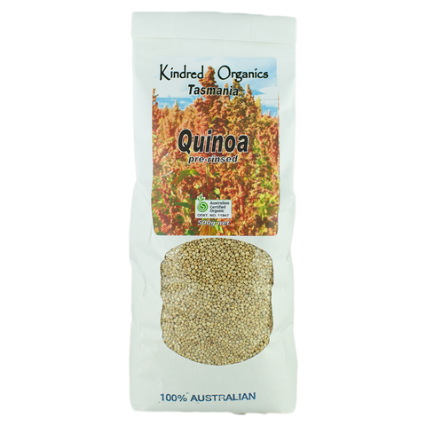 Kindred Organics Quinoa Pre Rinsed