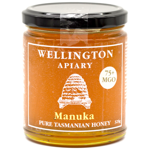 Wellington Apiary Manuka 75+ MGO Honey