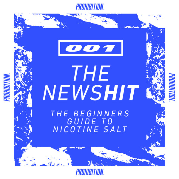 A beginners guide to Nicotine Salts