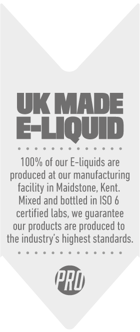UK Made E-Juice | Vape Juice Made In UK | Prohibition Vapes Co ®