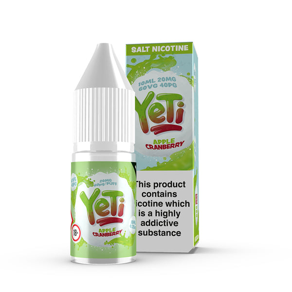 YETI - Apple Cranberry - 20mg Salt Nic