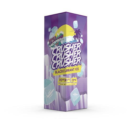 Crusher - Blackcurrant Ice 100ml 0mg