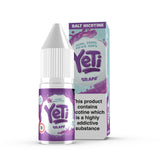 Grape by Yeti - 20mg Salt Nic. Devine grapes frozen at high altitudes, chopped and pressed into an icy mix. The perfect all adventure vape! Also available in 100ml Shortfill 0mg Nicotine. E-Liquid from Prohibition®