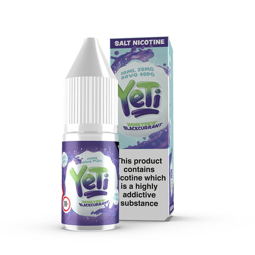 YETI - Honeydew Blackcurrant - 20mg Salt Nic