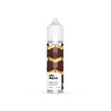 Only eliquids - Shortcake. Mouth watering caramel with a mellow milk chocolate layer imprinted on a shortbread. Available in 50ml Shortfill 0mg Nicotine. E-Liquid from Prohibition®