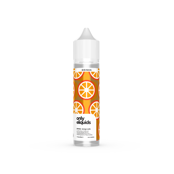 Only E-Liquids - Drinks -Orange Soda