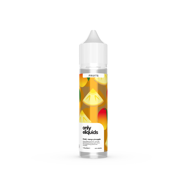 Only E-Liquids - Fruits - Mango Pineapple
