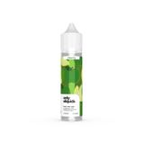 Only eliquids - Melon Apple. A complex blend of sweet honeydew melon, ripe juicy kiwi and crunchy red apples. Available in 50ml Shortfill 0mg Nicotine. E-Liquid from Prohibition®