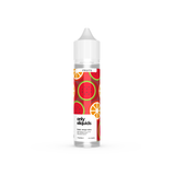 Only eliquids- Orange Melon. Glacial waves of tart orange with a climactic sweet watermelon exhale. Available in 50ml Shortfill 0mg Nicotine. E-Liquid from Prohibition®