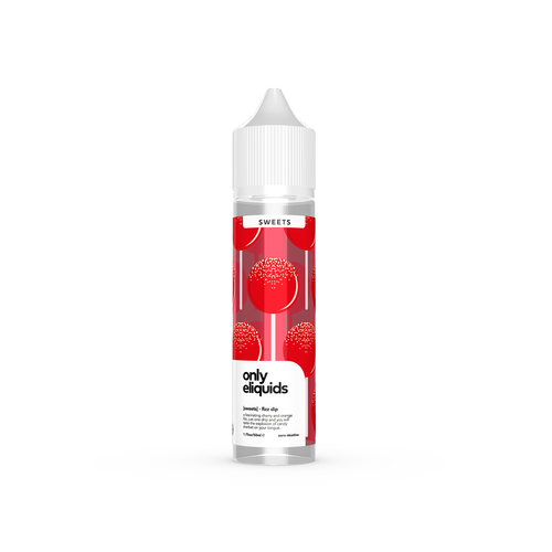 Only eliquids - Fizz Dip. A fascinating cherry and orange fizz, just one drip and you will taste the explosion of candy sherbet on your tongue. Available in 50ml Shortfill 0mg Nicotine. E-Liquid from Prohibition®
