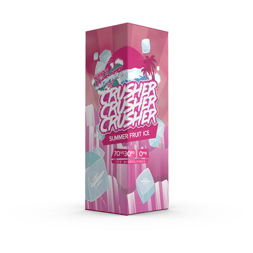 Crusher - Summer Fruit Ice 100ML 0MG