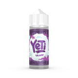 Yeti - Grape. Devine grapes frozen at high altitudes, chopped and pressed into an icy mix. The perfect all adventure vape! Available in 100ml Shortfill 0mg Nicotine and Salt Nic. E-Liquid from Prohibition®