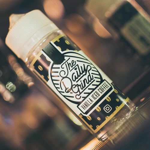 Daily Grind - Vanilla Iced Coffee E Liquid-Prohibition Vapes