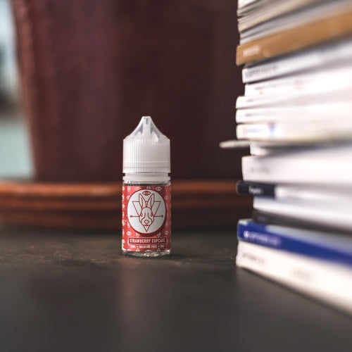 DRS White - Red 25ML 0MG-Prohibition Vapes