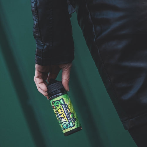 Strapped - Sour Apple Refresher 100ML 0MG-Prohibition Vapes