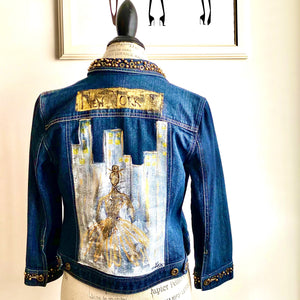 NEW YORK JEAN JACKET