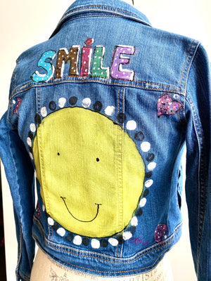 SMILE KIDS JEAN JACKET