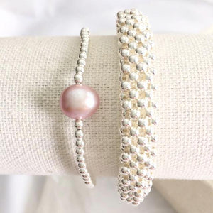 BELLE WITH PEARL BRACELET