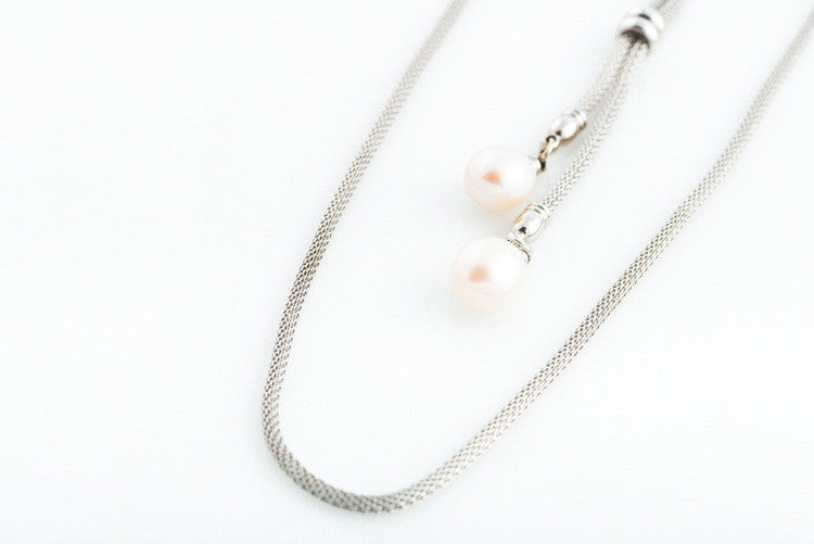 FIONA WHITE NECKLACE