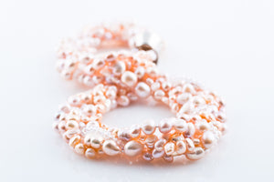ALY PINK PEARL NECKLACE