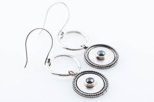 AVA GREY EARRINGS
