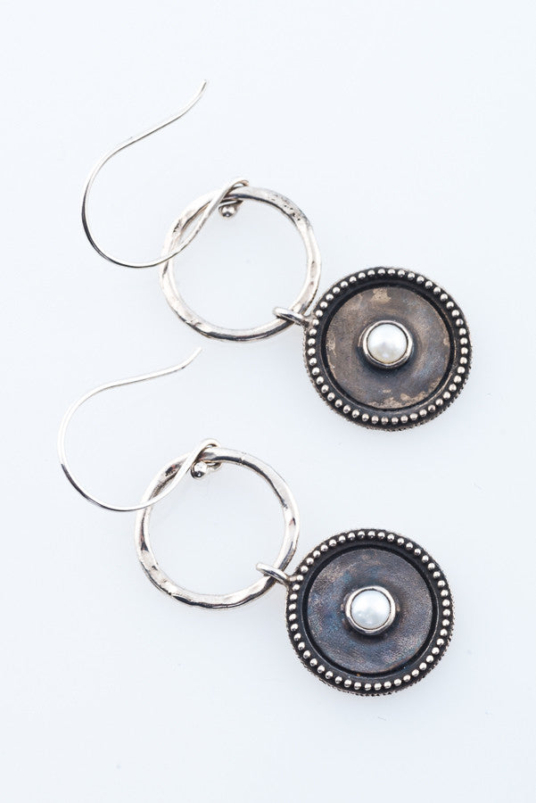 AVA WHITE EARRINGS