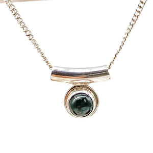 CIRCLE GEMSTONE NECKLACES
