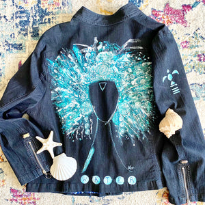 Water Angel Jean Jacket