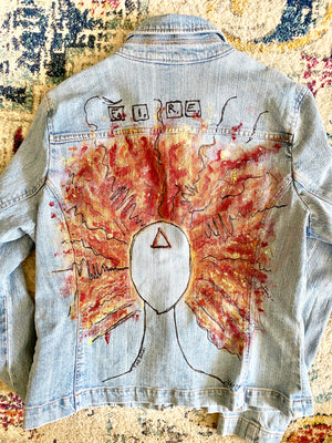 Fire Angel Jean Jacket